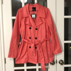 NWT coral colored jacket